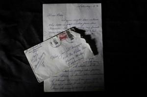 Correspondência de 1954 foi enviada pelo jogador de beisebol Joe DiMaggio em 1954