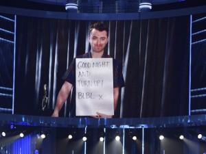 Sam Smith venceu melhor artista masculino no Billboard Music Awards, mas não foi à premiação porque se recupera de uma cirurgia nas cordas vocais