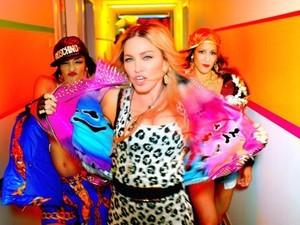 Cena do clipe 'Bitch I'm Madonna', de Madonna, lançado exclusivamente no Tidal