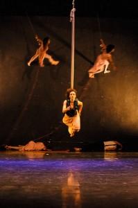 Núcleo de Aéreos do Circo Girassol apresenta: Vertigens no Teatro Renascença
