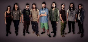 Grupo argentino Rootment explora o espírito do reggae roots jamaicano.   Foto: Katherin Gutierrez