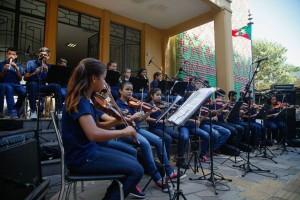 Orquestra Trilhos Sonoros foi contemplada com o programa
