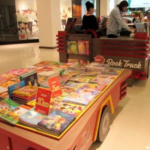 Praia de Belas Shopping - Book Truck - Foto digulgação  Rafaela Barcellos