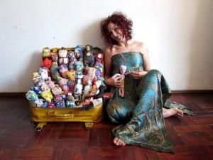 Exposição Bonecas Feias - Na Terra do Nunca _crédito di vulgação  (2)