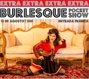 I Fashion Outlet NH - Apresentação Burlesque