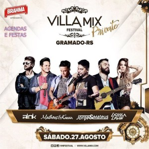 Villa Mix Festival Private Gramado