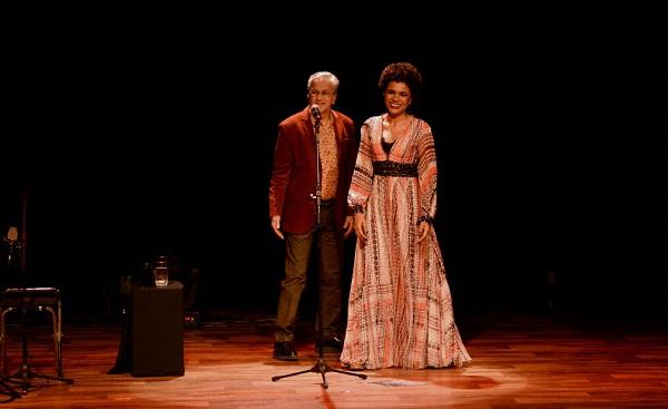 Caetano Veloso e Teresa Cristina