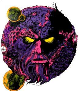 Ego, o planeta vivo (nos quadrinhos)