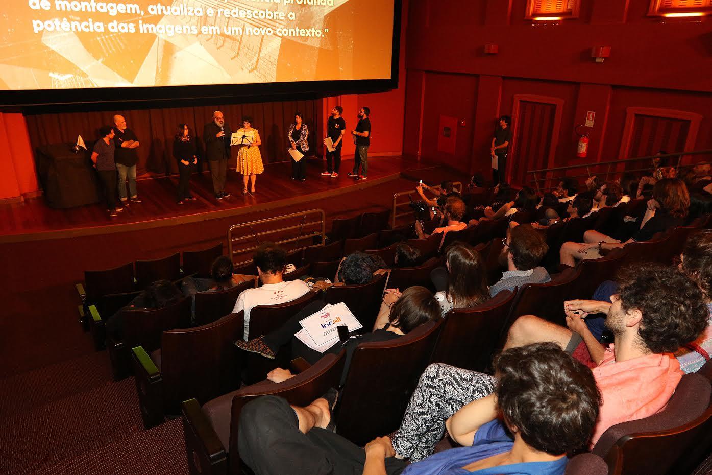 Cerimônia de encerramento do Cine Esquema Novo 2016 na Cinemateca Capitólio em Porto Alegre. Foto: Divulgação/Bruna Paulin Assessoria