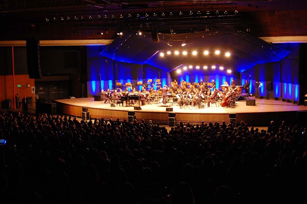 Ospa e Banda Municipal apresentam espetácuylo gratuito neste domingo, no Auditório Araújo Vianna, Foto: Ana Eidam