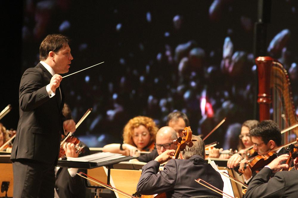 """Ospa apresenta """"Carmina Burana"""", de Carl Off em duas sessões no Araújo Vianna. Foto: Daniel Boucinha"""