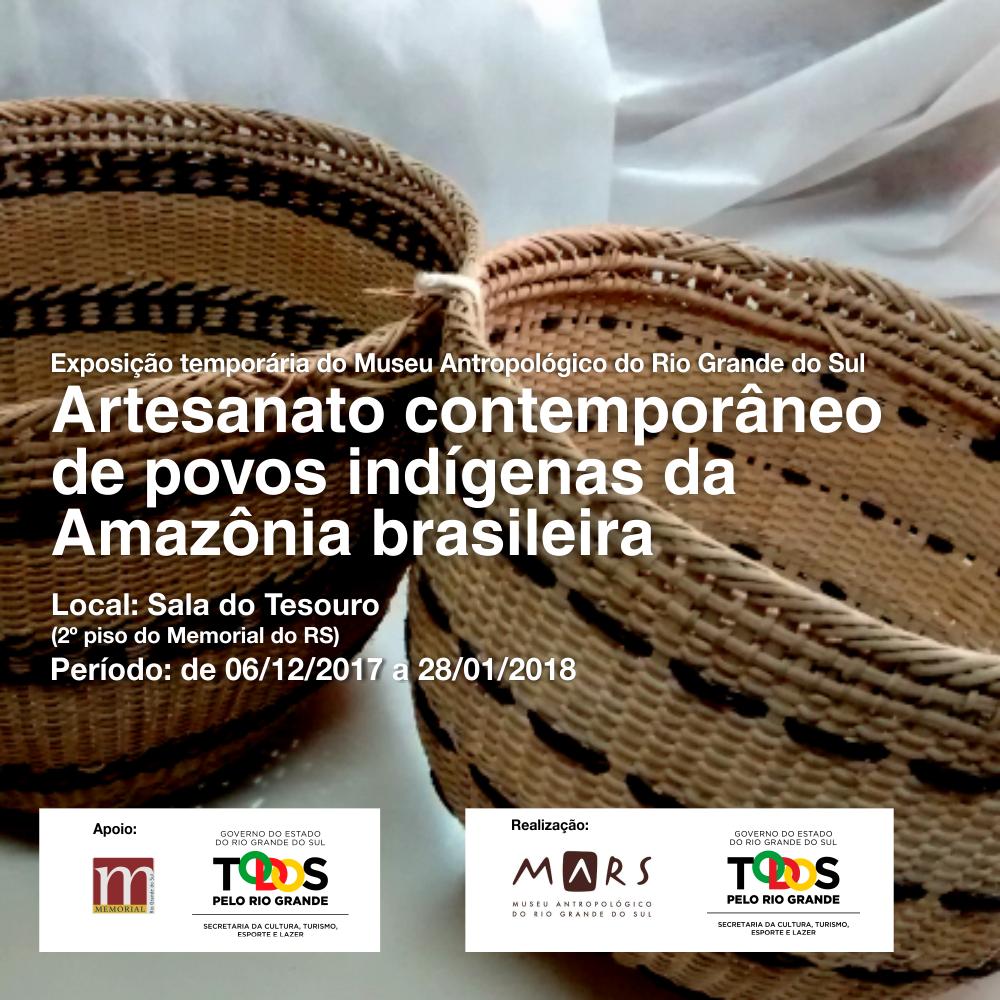 Artesanato Japoneses ~ Museu Antropológico expõe peças de etnologia indígena u2013 Jornal no Palco